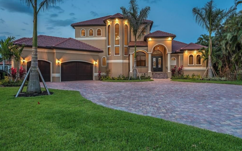 $2.495 Million Newly Built Waterfront Home In Cape Coral, FL