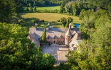 12,000 Square Foot Historic Brick Mansion In Salisbury, CT