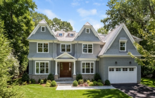 $4.85 Million Newly Built Shingle Home In Greenwich, CT