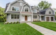 $2.995 Million Newly Built Shingle Home In Wellesley, MA