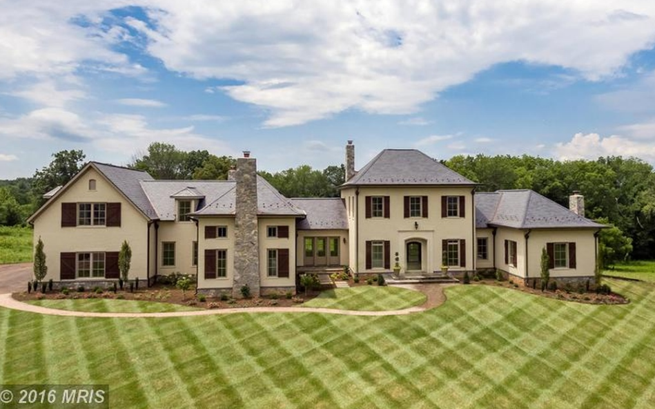 $2.8 Million Newly Built Brick & Stone Home In Leesburg, VA