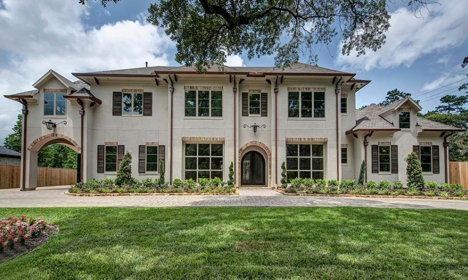 $2.625 Million Newly Built Brick, Stone & Stucco Home In Houston, TX