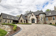 $2.699 Million Newly Built Brick & Stone Home In Bloomfield Hills, MI