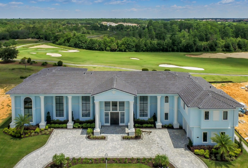11,000 Square Foot Newly Built Mansion In Reunion, FL