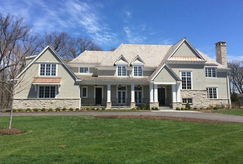 $3.2 Million Newly Built Home In Lake Bluff, IL