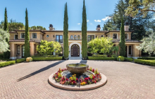 $11.8 Million Mediterranean Mansion In Saratoga, CA
