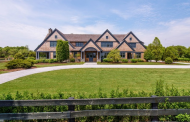 $9.95 Million Newly Built Shingle & Stone Mansion In Bridgehampton, NY