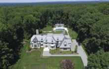 $7.299 Million Newly Built Tudor Mansion In Saddle River, NJ