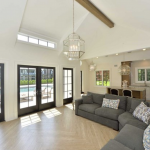 Pool House Interior