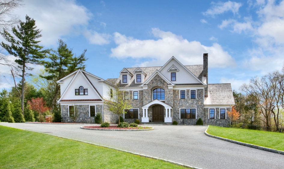 $5 Million Newly Built Colonial Mansion In Westport, CT