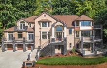 $2.8 Million Newly Built Stone & Stucco Home In Bellevue, WA