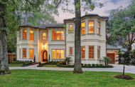 $3.35 Million Newly Built Stucco Home In Houston, TX