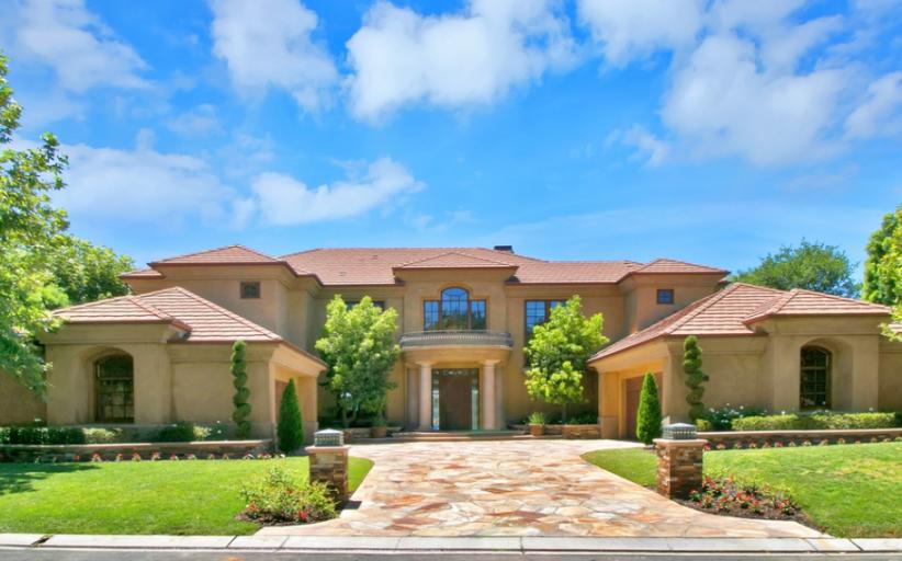 $3.95 Million Stucco Home In Coto De Caza, CA