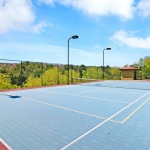 Tennis/ Basketball Court