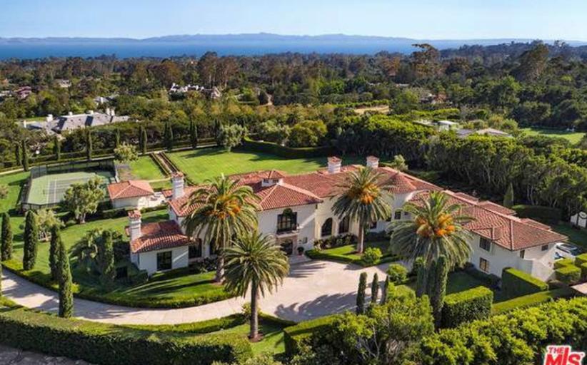 $19.5 Million Mediterranean Estate In Montecito, CA