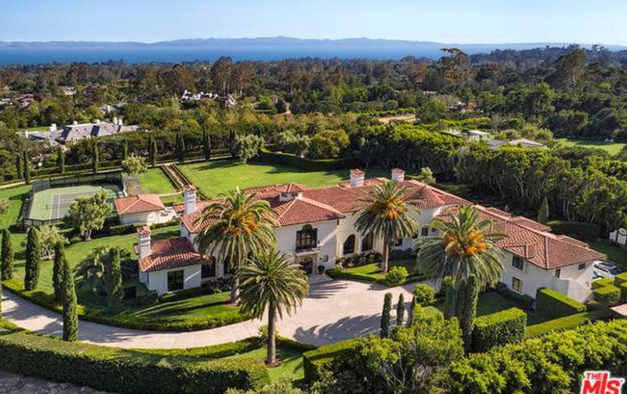$19.5 Million Mediterranean Estate In Montecito, CA