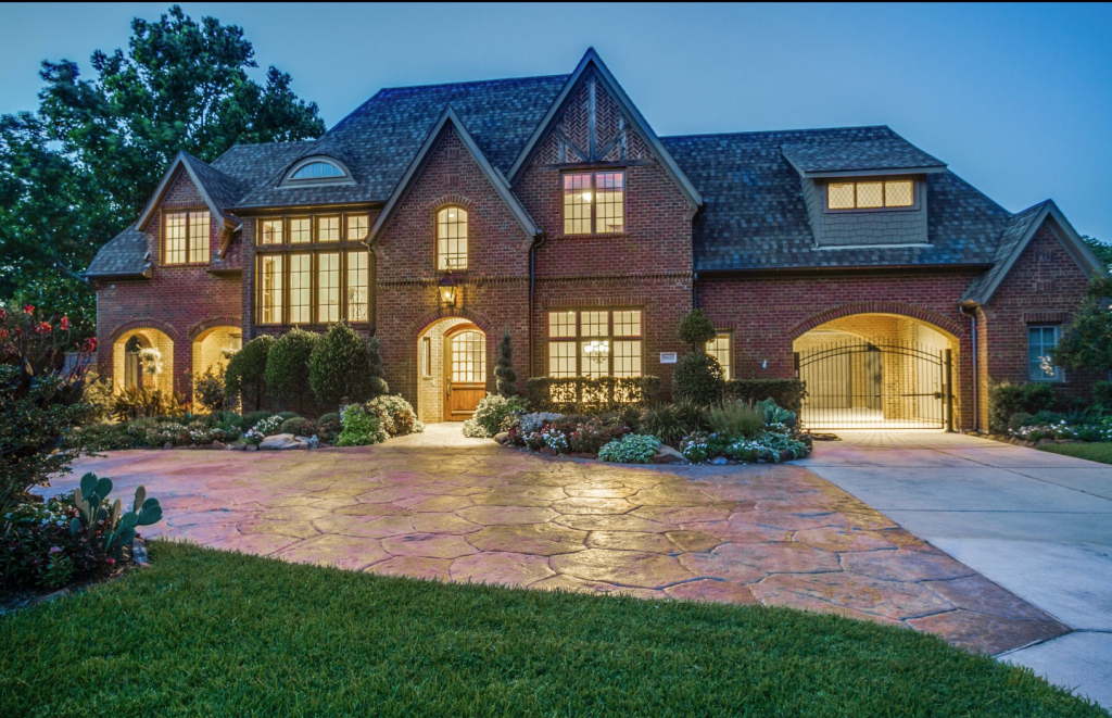 French inspired brick home in dallas tx homes of the - 4 bedroom houses for sale in dallas tx ...