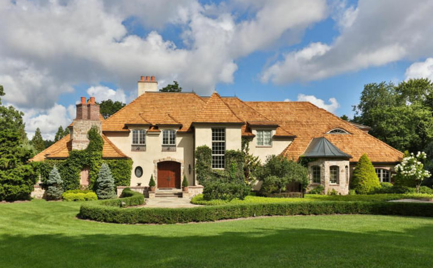 $4.2 Million French Country Home In Rumson, NJ