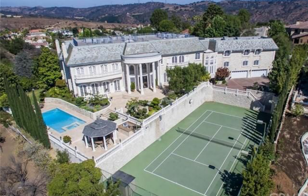 14 000 Square Foot French Inspired Mansion In Diamond Bar