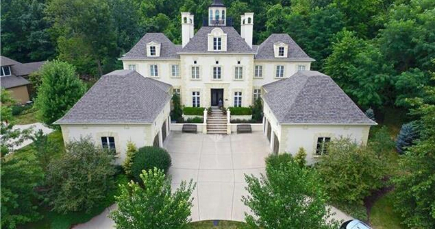 $1.1 Million French Inspired Home In Parkville, MO