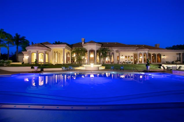 $10.7 Million Mediterranean Mansion In Rancho Santa Fe, CA