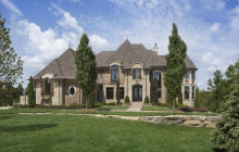 $2.98 Million Brick & Stone Home In Oakland Township, MI