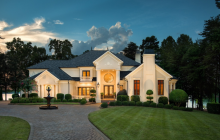 $3.375 Million European Inspired Lakefront Mansion In Mooresville, NC