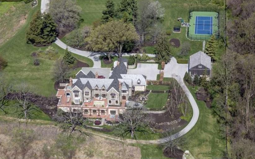 $28 Million Stone Tudor Mansion In Gladwyne, PA