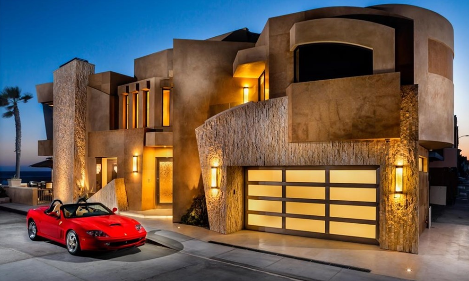 $10.8 Million Newly Built Contemporary Oceanfront Home In Newport Beach, CA