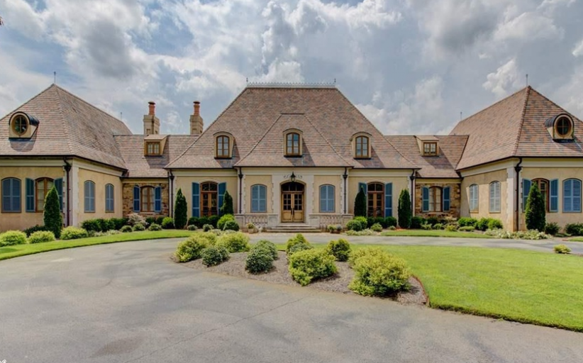10,000 Square Foot French Country Mansion In Paron, AR