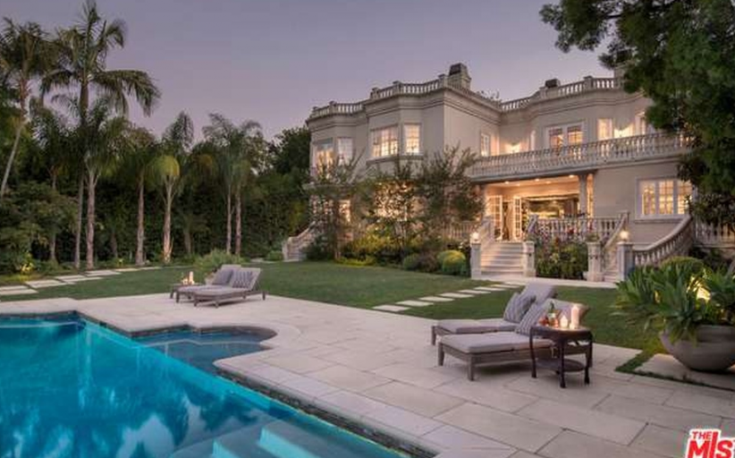 $17.495 Million French Inspired Mansion In Beverly Hills, CA