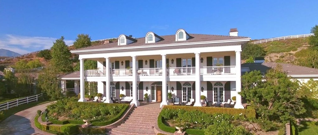 $8.2 Million Plantation Style Mansion In Coto De Caza, CA