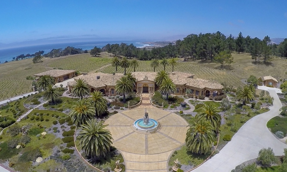 35,000 Square Foot Estate In Cambria, CA Re-Listed For $55 Million