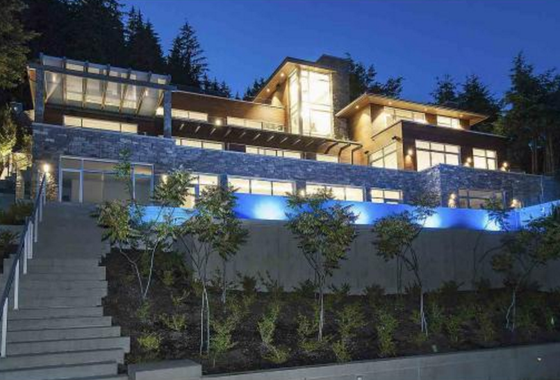 $16.8 Million Newly Built Contemporary Mansion In West Vancouver, Canada