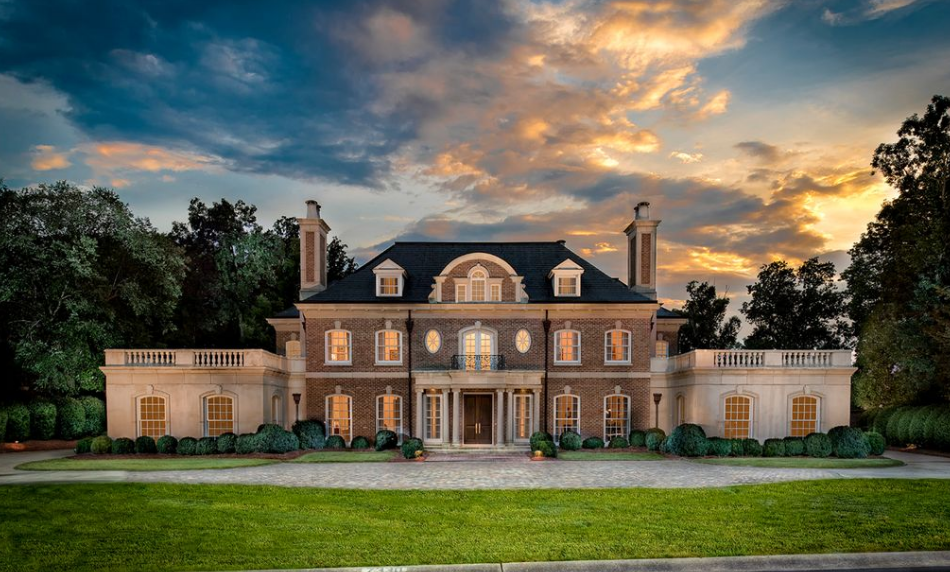 13 000 Square Foot Brick Amp Stone Mansion In Charlotte Nc
