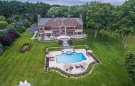 13,000 Square Foot Waterfront Brick Mansion In Lloyd Harbor, NY