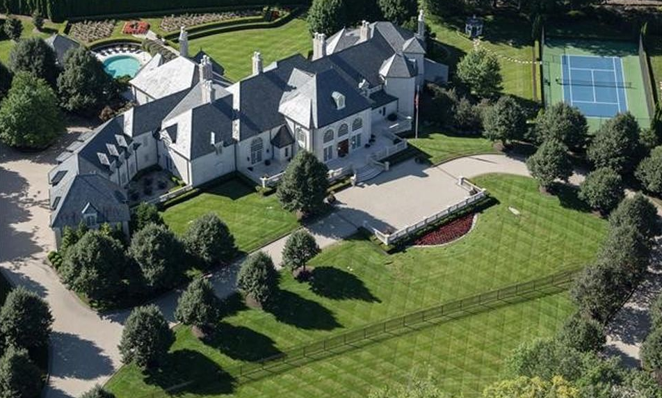 33,000 Square Foot French Inspired Mega Mansion In Saint Louis, MO ...