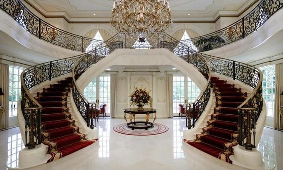 Home Saint Louis Foyer Unme : Square foot french inspired mega mansion in saint