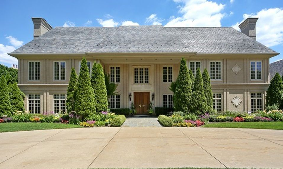 $6.7 Million French Inspired Mansion In Hinsdale, IL