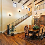 2-story Foyer & Dining Room