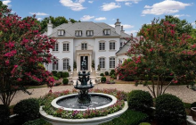 $4.65 Million Brick & Stone Mansion In Charlotte, NC