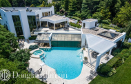 13,000 Square Foot Contemporary Mansion In Port Washington, NY