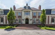 27,000 Square Foot Brick & Stone Mega Mansion In Rockville, MD