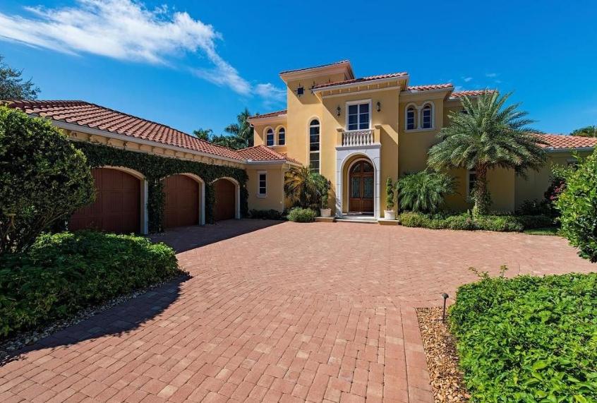 $4.7 Million Mediterranean Home In Naples, FL