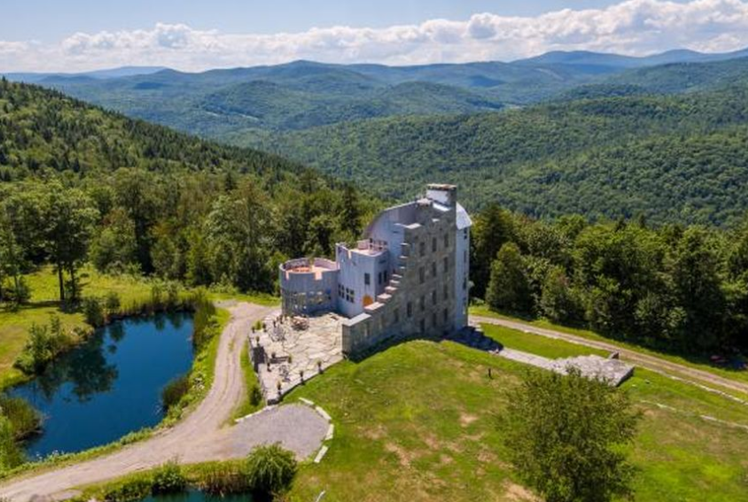 Grahall – A Castle-Like Home On 241 Acres In Cavendish, VT