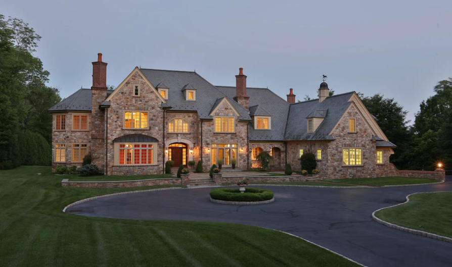 12 000 square foot stone mansion in lower gwynedd pa for 12000 sq ft house plans