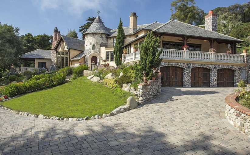 $5.75 Million French Tudor Home In Santa Barbara, CA