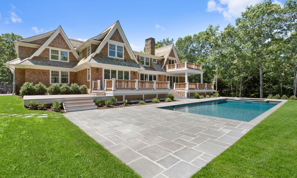 $3.495 Million Newly Built Shingle Mansion In Southampton, NY