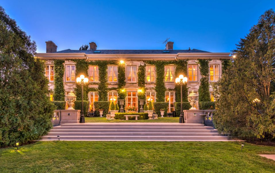 10 000 Square Foot French Inspired Mansion In Lake Forest Il Homes Of The Rich