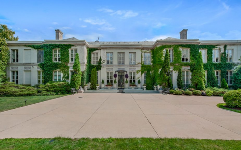 10,000 Square Foot French Inspired Mansion In Lake Forest, IL